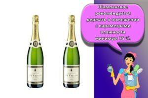 Как и сколько можно хранить шампанское в домашних условиях