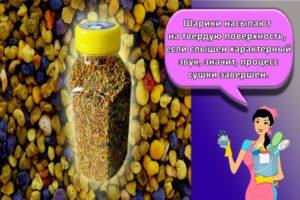 Как правильно и сколько можно хранить в домашних условиях пчелиную пыльцу
