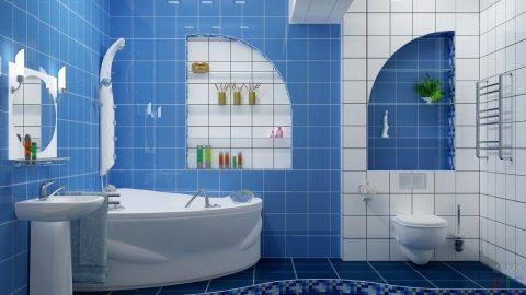 голубая комната