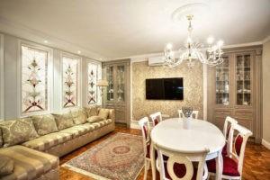 Лучшие идеи для оформления интерьера гостиной в классическом стиле, варианты дизайна