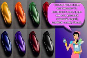 Палитра цветов кэнди и виды составов, как использовать для автомобиля