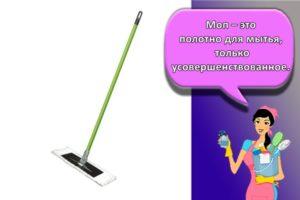 Описание мопов для швабры для уборки помещений и расшифровка термина