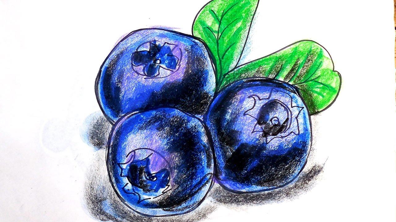 рисунок ягод