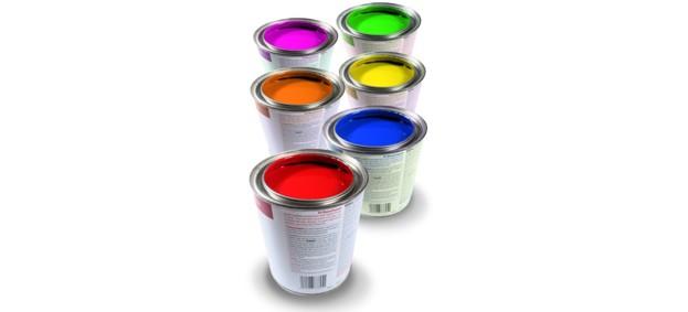 краска в банке