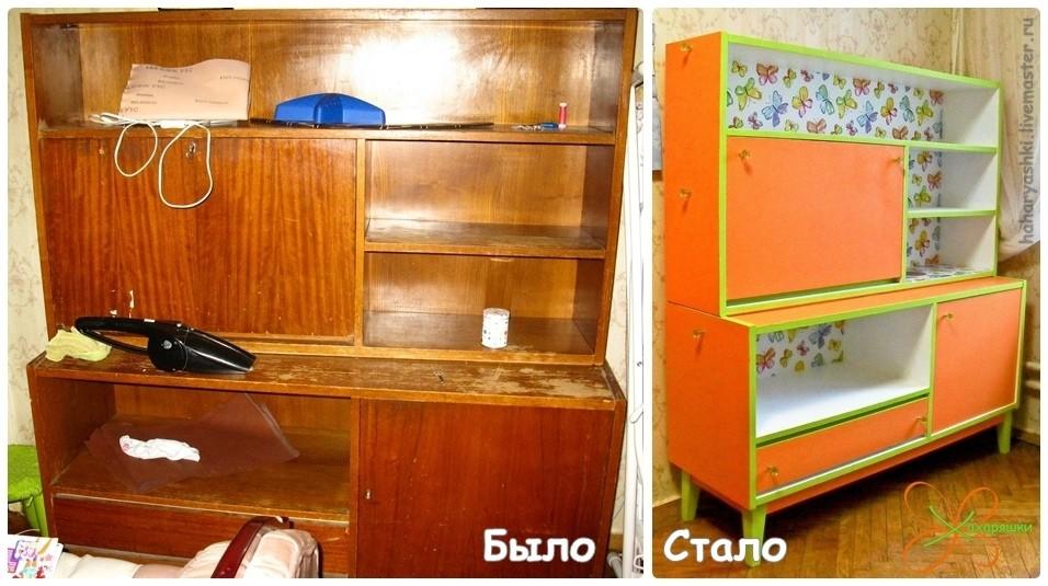 Реставрацию лакированной мебели можно выполнить самостоятельно.