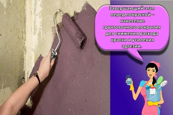 Завершающий этап перед покраской – нанесение грунтовочного покрытия для снижения расхода краски и усиления адгезии.