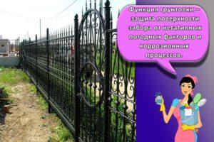 Как быстро покрасить металлический забор, выбор состава и правила нанесения