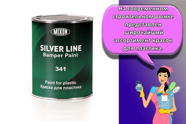 На современном строительном рынке представлен широчайший ассортимент красок для пластика.