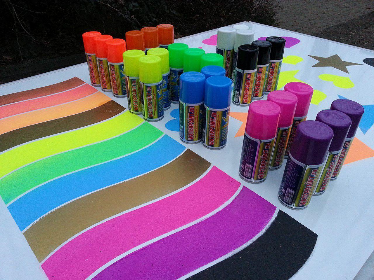 Акриловые краска