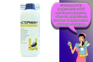 Инструкция по применению и состав Экстермина-Ц, дозировка и аналоги